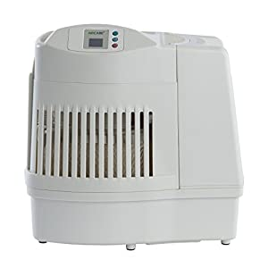 AIRCARE MA0800 Digital Whole-House Console-Style Evaporative Humidifier, White