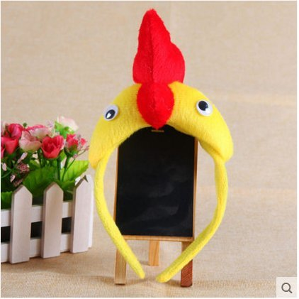Fashion Animal headdress crown Halloween Cosplay show Christmas performance props birthday gifts (chicken)