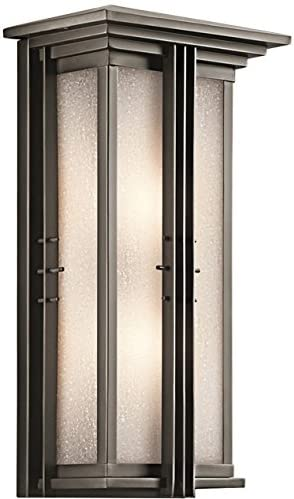 Kichler 49160OZFL Two Light Outdoor Wall Mount