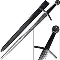 Medieval Crusader Full Tang Sword Blunted Reenactment