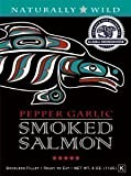 Alaska Smokehouse Smoked Pepper Garlic Salmon in a Gift Box, 4 oz [Misc.]