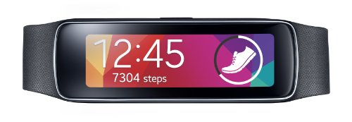 Samsung Gear Fit Smart Watch Black (US WARRANTY)