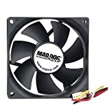 Mad Dog Multimedia WhisperFan Case Fan (MD-80MM-CF-UC) (MD-80MM-CF-UC)