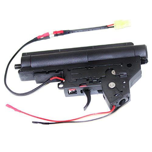 Airsoft Shooting Gear Army Force 8mm Complete QD JG M-Series V2 Gearbox Version 2 Front (Aeg Gearbox Selector Plate)
