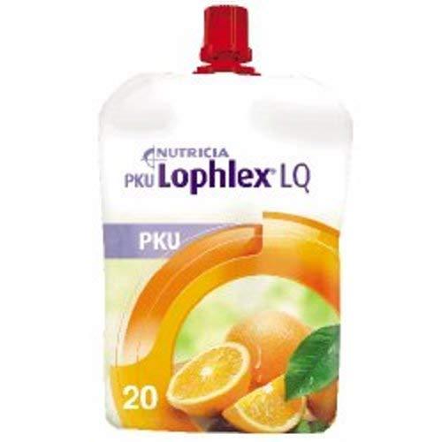 PKU Lophlex LQ 125 mL Pouch, Juicy Orange
