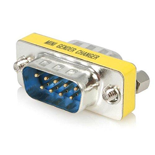 Serial Cable Gender Changer (StarTech.com Slimline Serial DB9 Gender Changer - M/M (GC9SM))