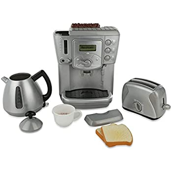 Play Kitchen Appliances   Toy Kitchen Breakfast Tea Set | Deluxe Play  Kitchenet Set   Interactive