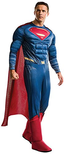Rubie's Men's Superman Adult Deluxe Costume, As As Shown, Standard