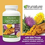 Trunature Liver Health Complex 1000mg 180 Tablets, Health Care Stuffs