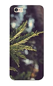 Blackducks High Grade Flexible Tpu Case For Iphone 6 Plus - Pine Branch ( Best Gift Choice For Thanksgiving Day)
