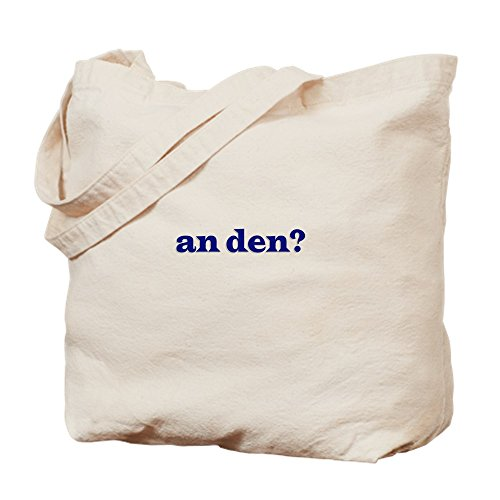 CafePress An Den? Dude Where's My Car Natural Canvas Tote Bag, Reusable Shopping Bag