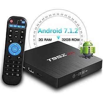 T95Z MAX Android 7.1 TV Box Amlogic S912 Octa-Core 3GB DDR3/32GB eMMC 2.4Ghz 5Ghz WiFi 1000M LAN Ethernet 64-Bit H.265 Bluetooth 4.0 DLNA UHD 4K Mini PC TV ...