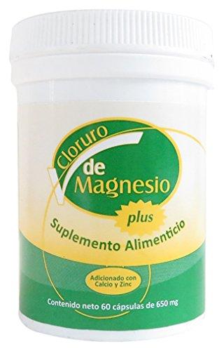 Cloruro de Magnesio/Magnesium Chloride Bottle with 60 caps