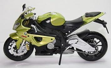 BMW S1000rr S1000 S 1000 Rr GrUn Schwarz 1 12 Maisto Motorradmodell Motorrad Modell