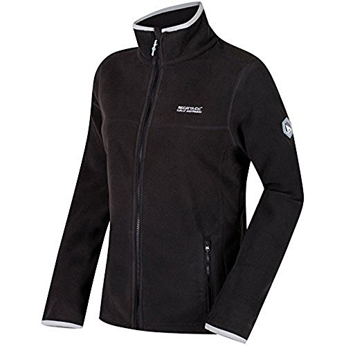 Regatta Great Outdoors Womens/Ladies Floreo II Full Zip Fleece Jacket (6 US) (Ash)