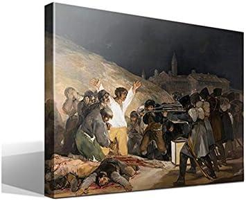 cuadro canvas El 3 de Mayo en Madrid de Francisco de Goya - 40cm x 55cm