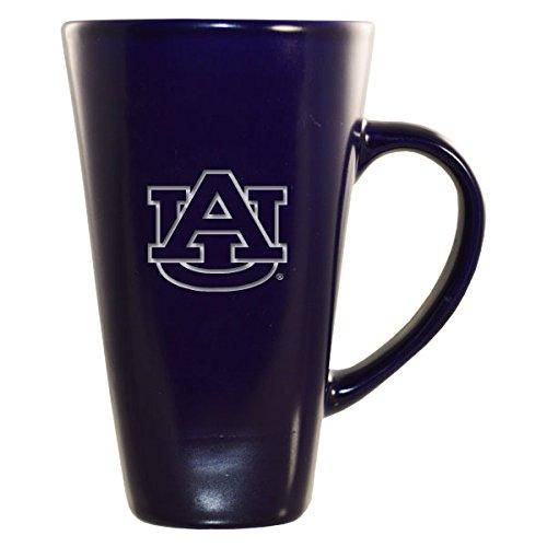 (Auburn University -16 oz. Tall Ceramic Coffee Mug-Blue)