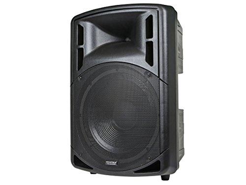 (Monoprice PA Speaker - 15 Inch   500 watt, Passive, 8 ohms impedance, 50 Hz ~ 20 kHz (-10dB) Frequency Response - Stage Right Series)
