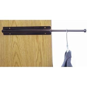 Sliding Closet Valet Rod Bronze