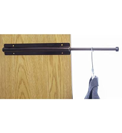 Attrayant Extending Closet Valet Rod Bronze