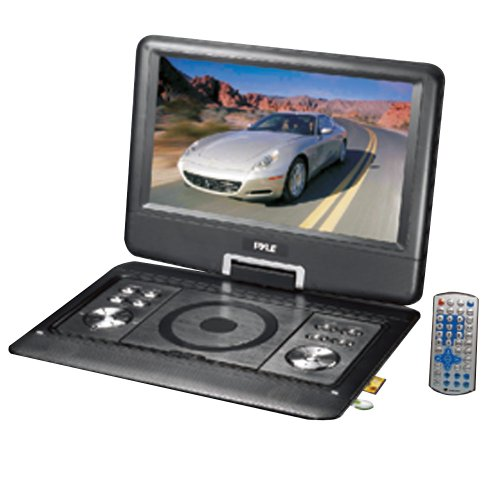 WCI Quality 14-Inch Portable DVD Player With Built In LCD Monitor, MP3/MP4 Music Player With USB And SD Card Slots – For Home And Travel Entertainment