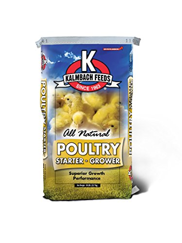 Kalmbach Feeds 1 Piece Flock Starter Grower, 25 lb