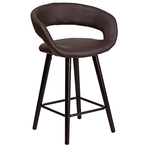 flash-furniture-ch-152561-brn-vy-gg-brynn-series-high-contemporary-brown-vinyl-counter-height-stool-