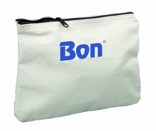 Bon 11-648 11-Inch by 7-1/2-Inch Canvas Zipper Bag