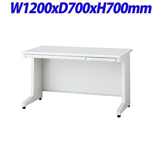 プラス RJDeskIIシリーズ 平机 奥行700mmタイプ 天板本体カラー:ホワイト W1200×D700×H700mm RJ-127H WH B076D9YRZ7