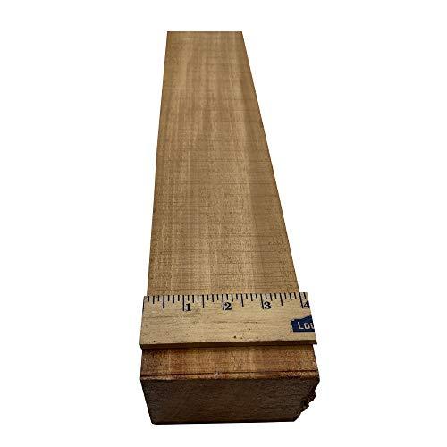 Honduran Mahogany Neck Blanks 24 x 4 x 3 inches ()