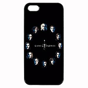 Game Of Thrones Faces Custom Image Case iphone 4 case , iphone 4S case, Diy Durable Hard Case Cover for iPhone 4 4S , High Quality Plastic Case By Argelis-sky, Black Case New