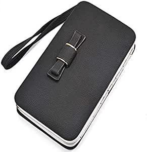 Black Leather For Women - Card & ID Cases