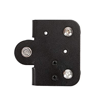 Aibecy Creality 3D Extruder Back Support Plate with Pulley 3D Printer Parts Accessory Extruding Backplate for Ender 3 Ender 3 Pro CR-10 CR-10S S4 S5 Series 3D Printers 1Pcs