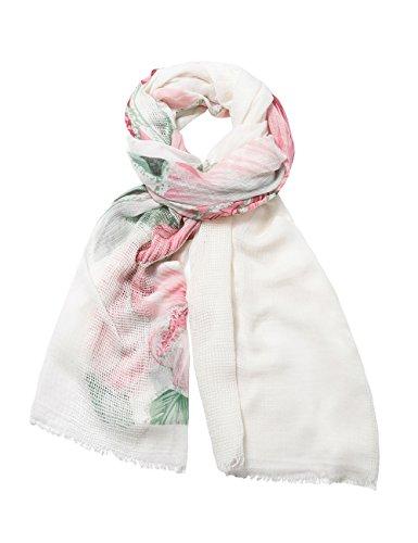 foulards desigual 74w9wa0 rectangle blanc