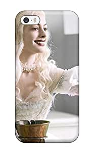 Perfect Tpu Case For Iphone 5/5s/ Anti-scratch Protector Case (anne Hathaway Alice In Wonderland)