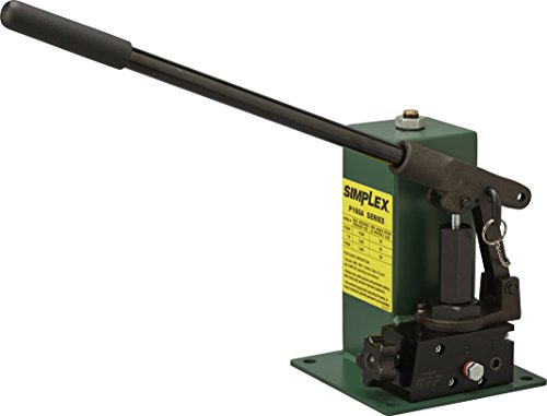 Simplex P1604A Special Application Hand Pump, 148 cu in oil Reservoir capacity, 6500 PSI, Green (Hand Simplex Pumps)