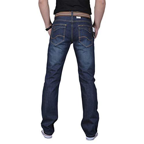 Lavoro hop Kword Hip Pants Blu Lunghi Denim Dei Pantaloni Uomini Autunno Jeans Di Casuale Cotone BXTvBw