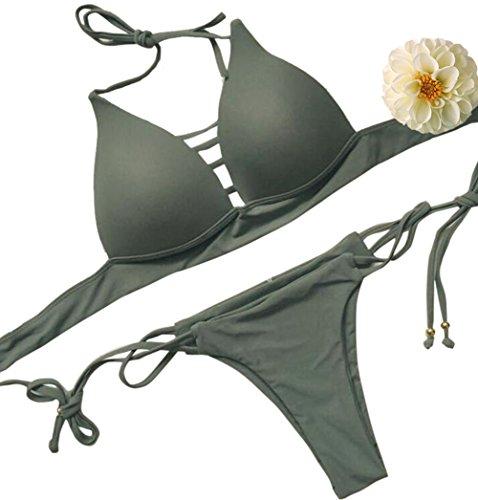 DINGANG - Conjunto - para mujer Verde