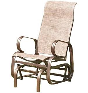 Havana Single Seat Glider   Bronze. Boston Bronze Single Seat Chair Glider by Suntime  Amazon co uk