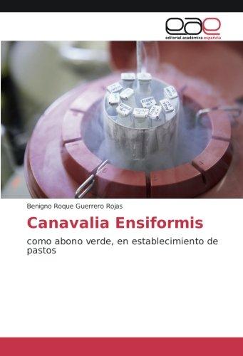 Canavalia Ensiformis: como abono verde, en establecimiento de pastos (Spanish Edition) [Benigno  Roque Guerrero Rojas] (Tapa Blanda)