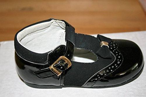 Girsl Chaussures NOIR avec détail nœud en taille 7