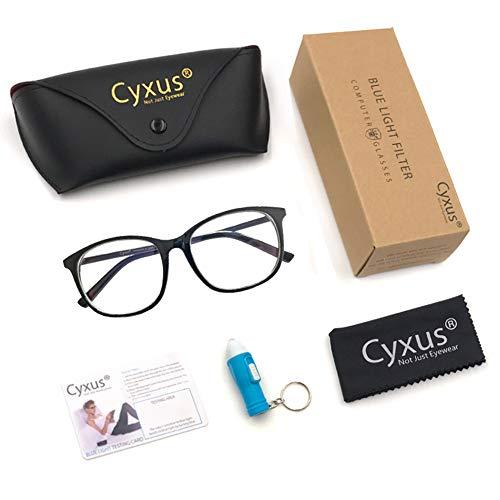 Cyxus Blue Light Filter Computer Glasses...
