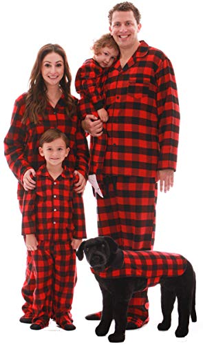 #followme Buffalo Plaid Dog Jacket Clothes for Dogs 6747-10195C-M-L (Striped Snuggle Socks)
