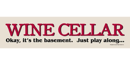 High Cotton Wine Cellar Sign Plaque