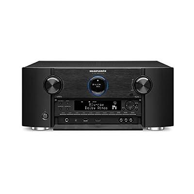 Marantz AV7704 11.2 Channel AV Audio Component Pre-Amplifier | Auro-3D, Dolby Surround Sound | Stream music via Wi-Fi, Bluetooth, AirPlay 2 & HEOS, Alexa Compatibility (Discontinued by Manufacturer)