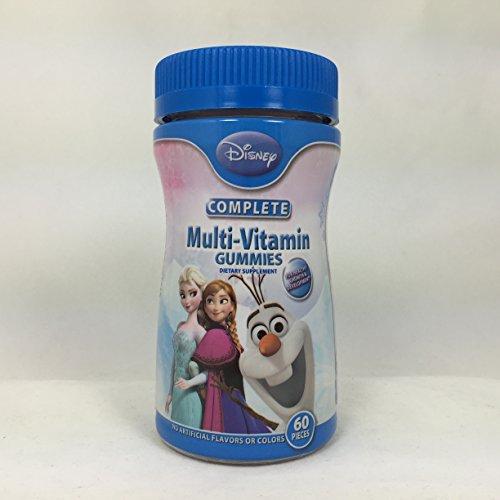 Disney Frozen Multivitamins - 60 Count Pack of 4