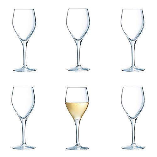 Chef & Sommelier Sensation Exalt Set of 6 White/Red Wine Glass Glasses ()