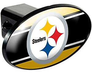 NFL Pittsburgh Steelers Trailer Hitch Cover by Great American Products