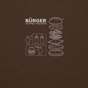 Planet Nerd - Bürger Assembly required - Herren T-Shirt, Größe XL, braun