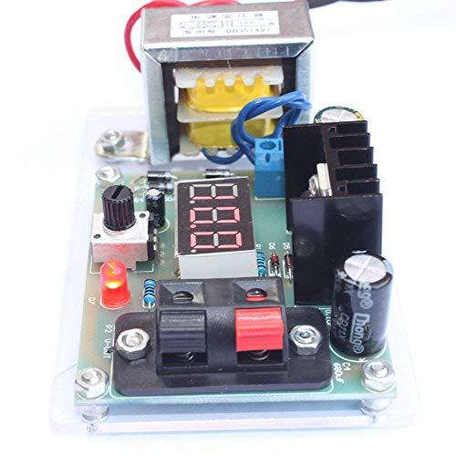 (KKmoon LM317 1.25V-12V Continuously Adjustable Regulated Voltage Power Supply DIY Kit with Transformer)